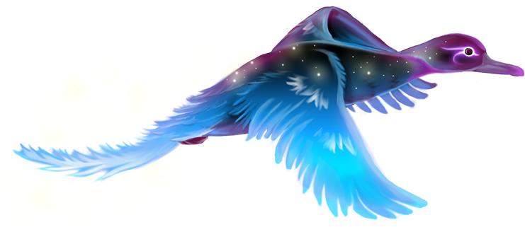 """""""A bird of brilliant magical plume and poise. Its song can travel vast distances via the Mana winds."""""""